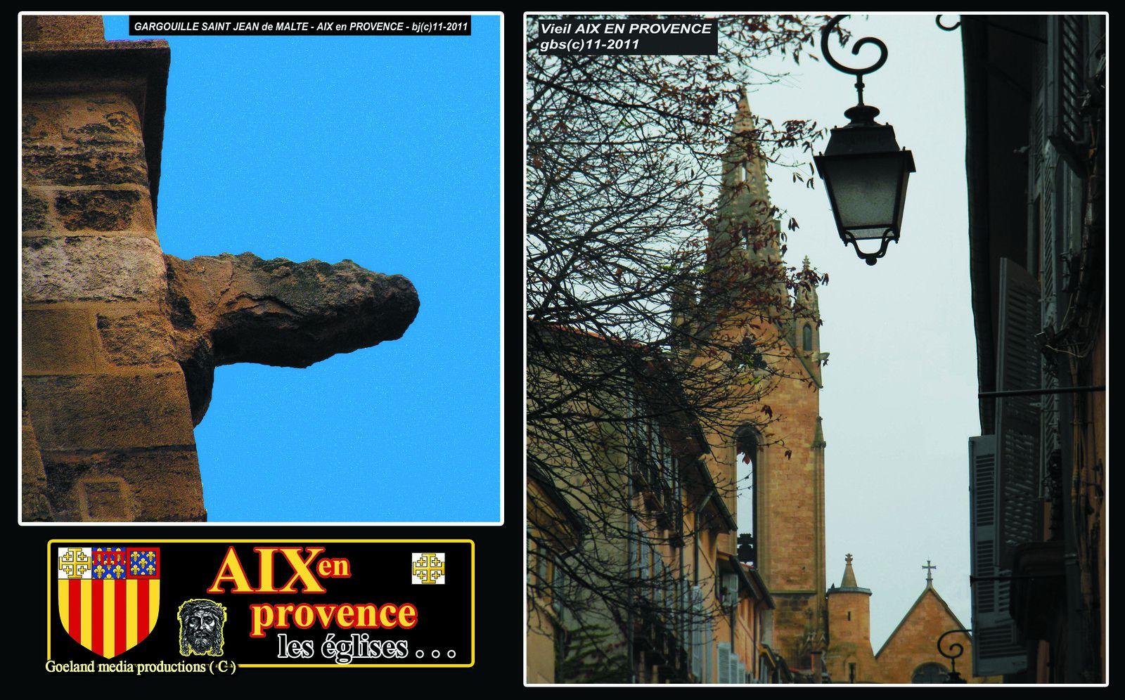 SAINT JEAN de MALTE - Aix en Provence - 1ére église gothique de Provence