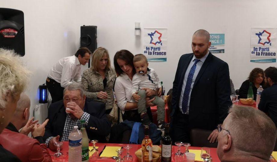 Succès du déjeuner patriotique avec Jean-Marie Le Pen dans l'Oise !