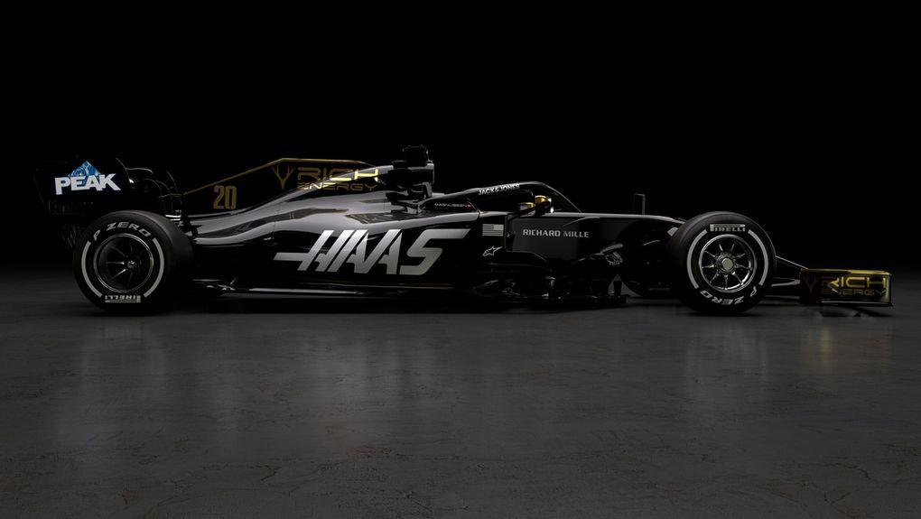 De nouvelles couleurs pour Haas en 2019