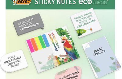 Notes adhésives BIC à personnaliser