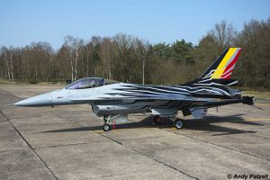 New F-16 Solo Display Belgium Air Force