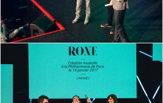 Annonce: @JeanMichelJarre remettant au Prix des...
