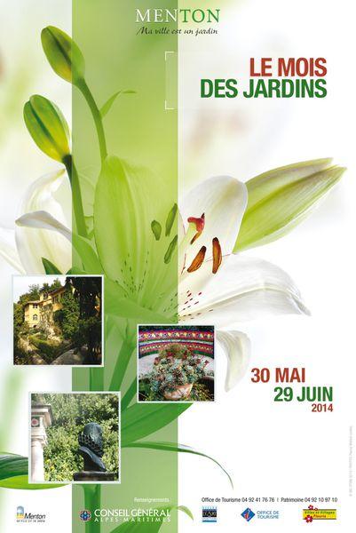 Menton: LE MOIS DES JARDINS Du 30 Mai au 29 juin