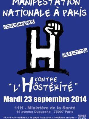 """Contre """"l'Hôstérité"""" mobilisation nationale le 23 septembre"""