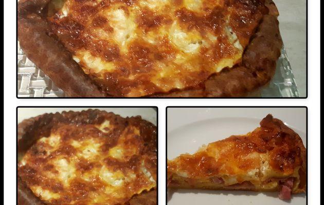 Clafoutis aux 2 jambons et Burrata