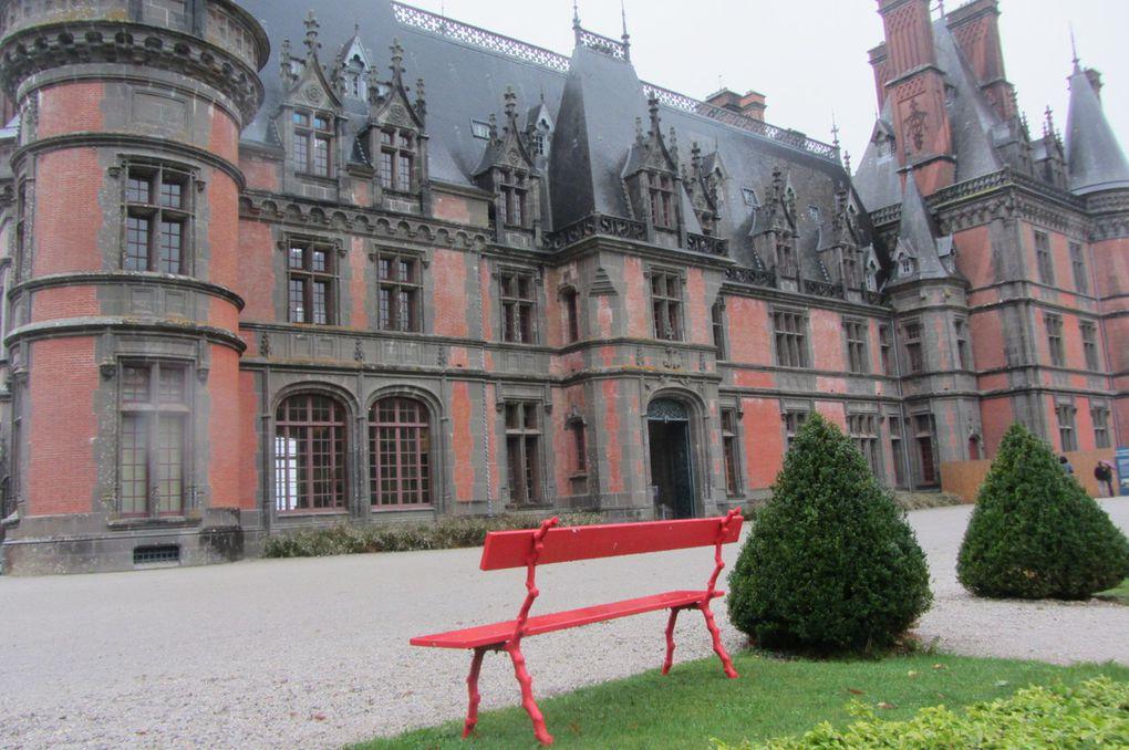 Jour de pluie au château de Trevarez ( 29 )