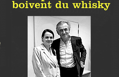 Les promoteurs boivent du whisky...