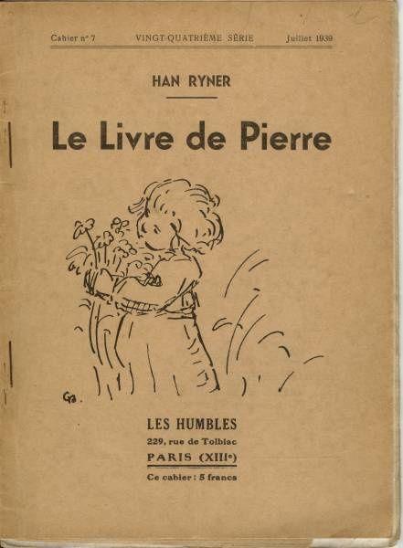 Couvertures des livres ou brochures  écrits par Han Ryner