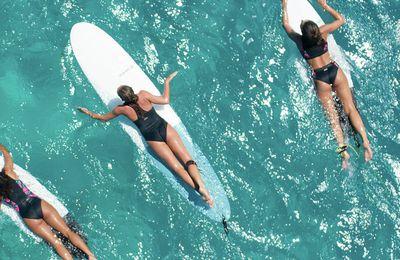 Olaian, la planche de surf gonflable, qui tient dans un sac !