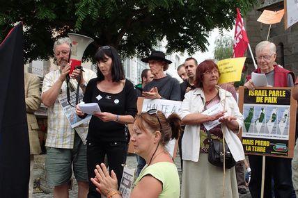 Manifestation en soutien à Gaza