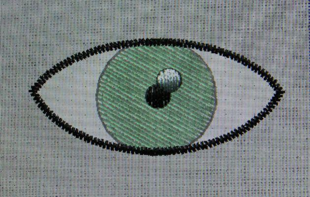 """Numérisation: la fonction """"intersection"""" (yeux)"""