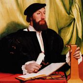 Hans Holbein - L'homme au luth - LANKAART