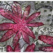 En-cours et tutos fleurs en tissus - Le blog de Patchacha
