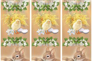Marque page ~Pâques~ à imprimer