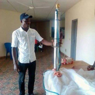 La pompe de Gareni en terre de Djebonoua