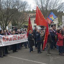 Gaz de schiste, rassemblement de Barjac dans le Gard