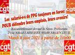 Pour la défense des emplois : rassemblement Mardi 8 juin 11H devant la Sous Préfecture d'Argenteuil