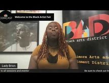 Leaders of a Beautiful Struggle - Lady Brion : 2021 Baltimore Black Artist Fair (Welcome)