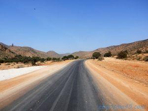 Nationale 12 Guelmim-Sidi Ifni (Maroc en camping-car)