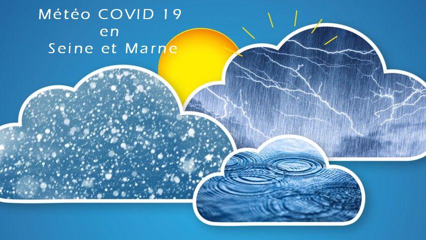 Météo « COVID – 19 » en SEINE et MARNE et ILE de FRANCE
