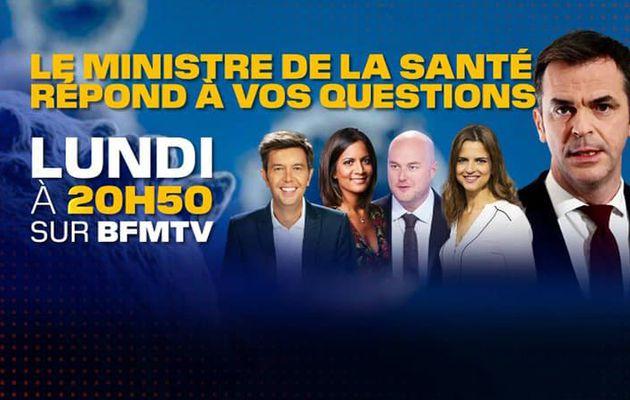 Olivier Véran, invité de BFMTV ce lundi à 20h50 pour une soirée spéciale