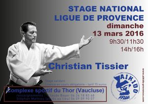 Evènement : Stage animé par Christian Tissier au Thor
