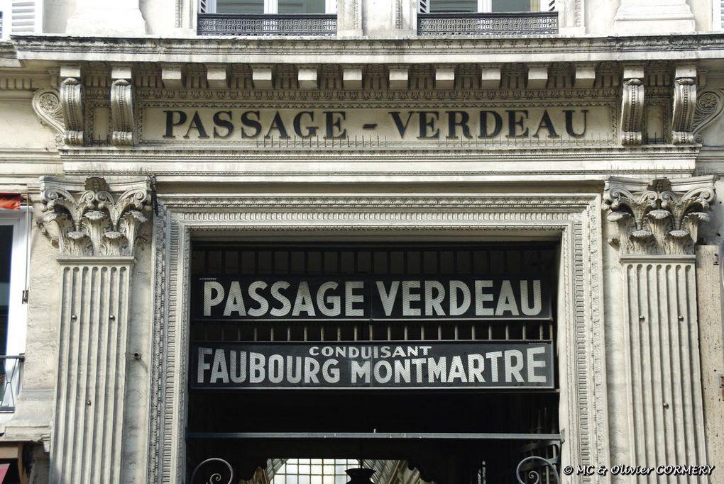 L'Enigme des Passages couverts... et le Parc Monceau.