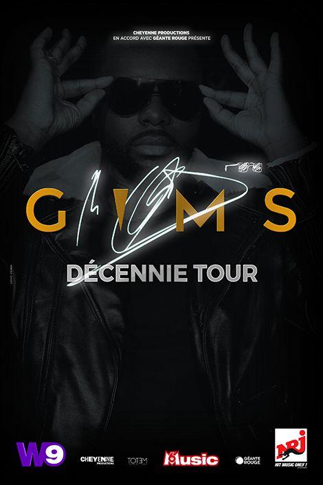 GIMS Nouvelles dates de la tournée • Décennie Tour en 2022