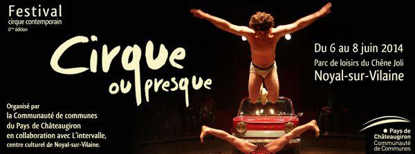 Les Classes du Festival Cirque ou Presque 2014