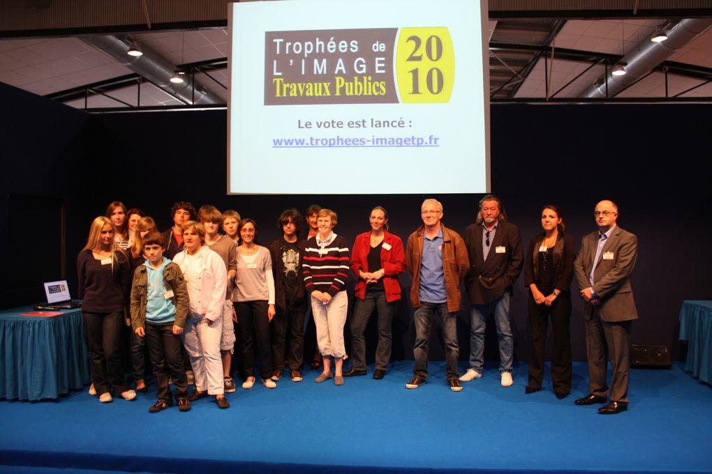 Remise du Prix Collègiens des Trophée de l'image Travaux Publics 2010 - FNTP, Rouen, 2 juin 2010
