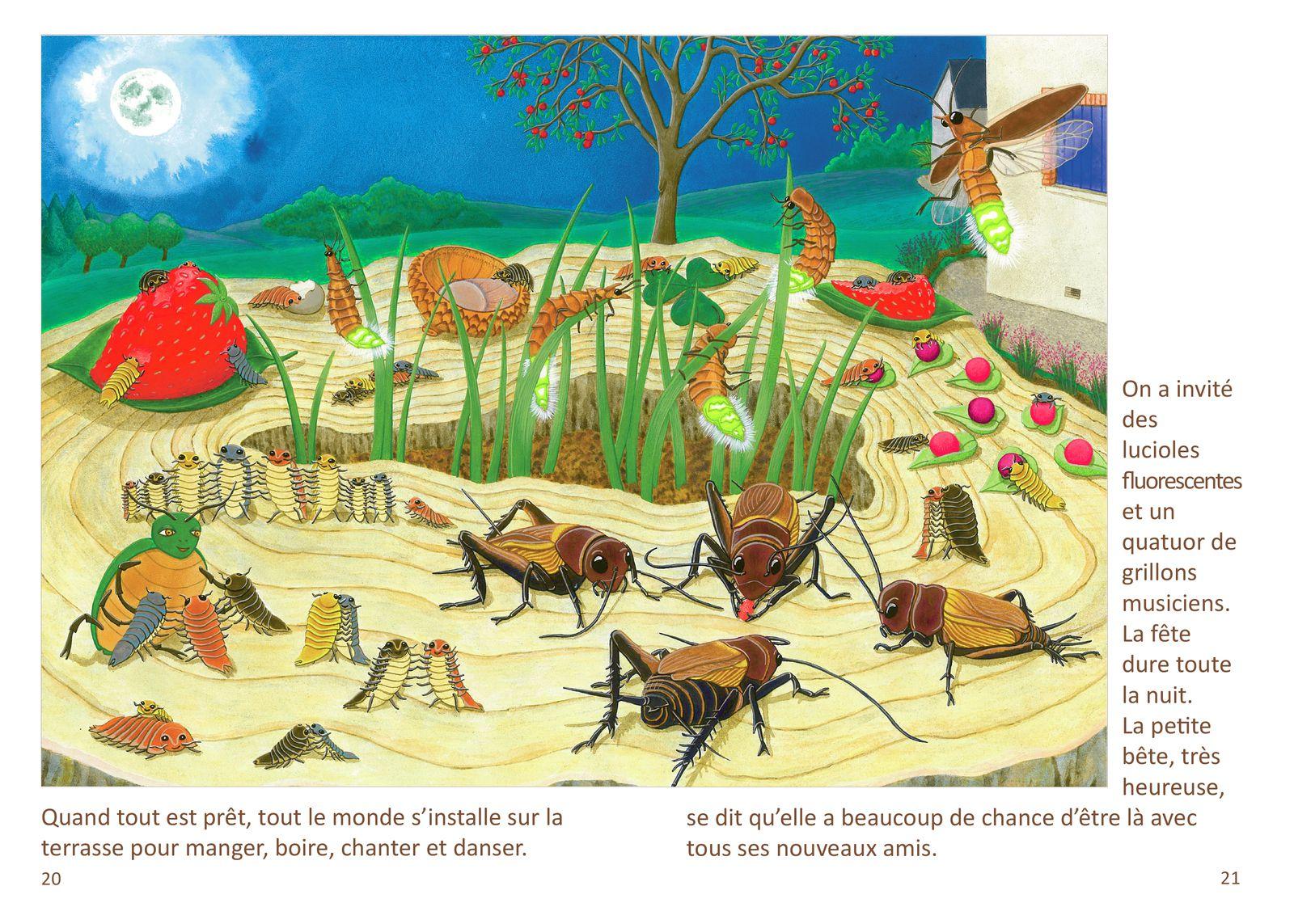 Histoire de la petite bête. Conte illustré pour enfants