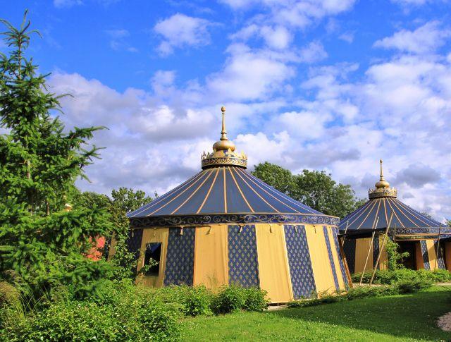 Camp du drap d'or Puy du Fou
