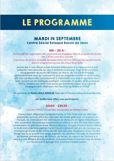 Les Escales Méditerranéennes - Expo, débats, projections, concerts, .....
