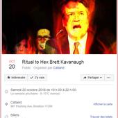 """USA : Un rituel occulte se déroulera le 20 octobre prochain à New York visant à """"jeter un sort"""" à Brett Kavanaugh ainsi qu'à """"tous les violeurs et le patriarcat qui les encouragent, les récompensent et les protègent"""" - MOINS de BIENS PLUS de LIENS"""