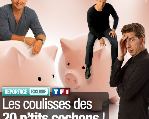 EXCLUSIF / Les coulisses des 20 p'tits cochons !