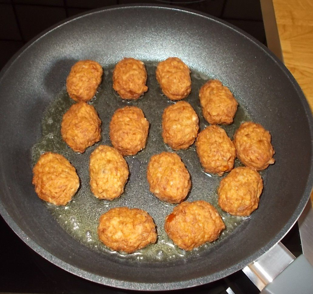 Penny Mike Mitchell's Chicken Meatballs BBQ