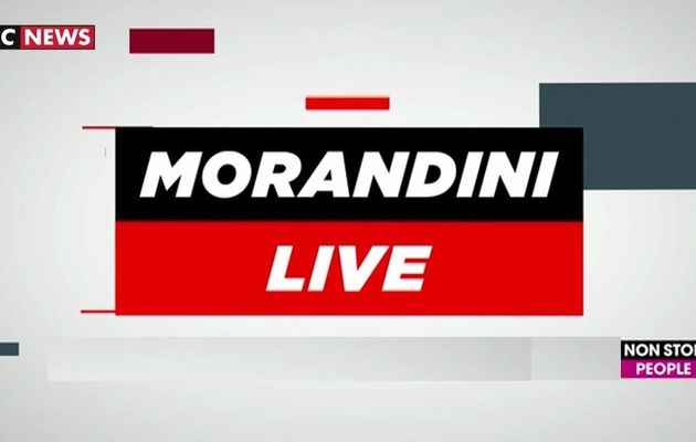 Morandini Live du 12 novembre
