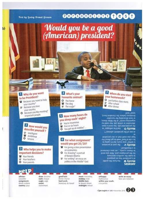 American Presidents - VOTE FOR ME!