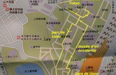 Ueno 上野 -parc des cerisiers et des musées-