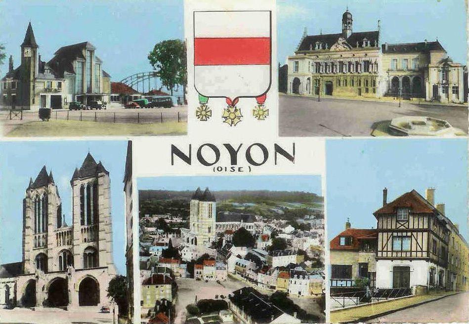Album - la ville de Noyon (Oise), 1955 l'atelier de Couture