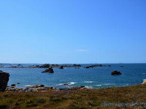 Site du gouffre, Plougrescant (Voyage en camping-car)
