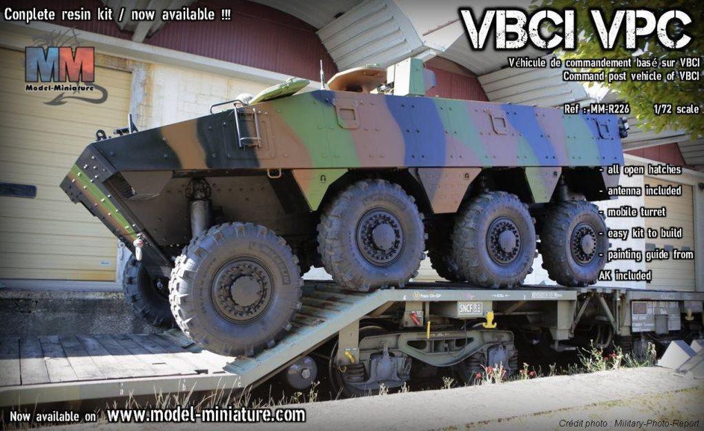 VBCI VPC et decals au 1:72 (Model-miniature)
