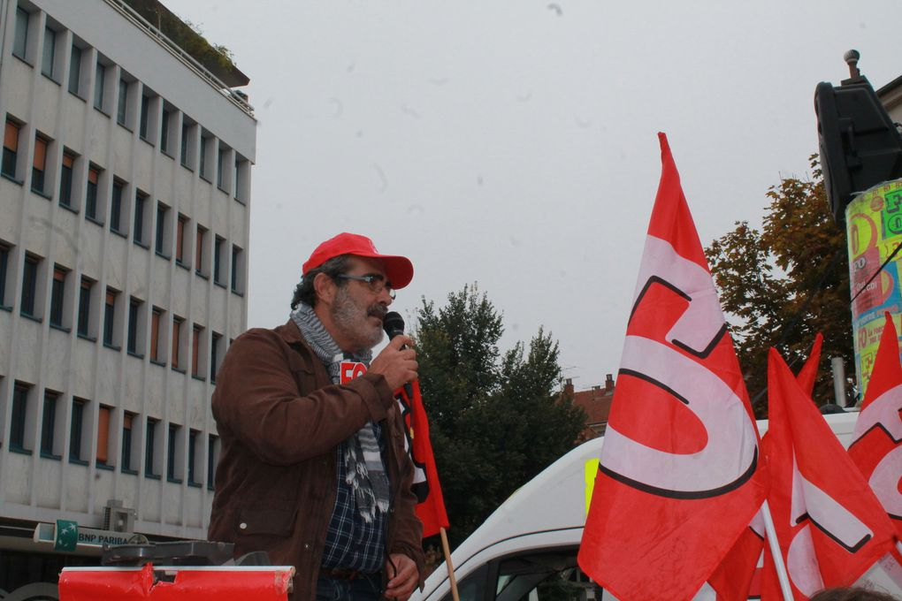 Manifestation du 9 octobre à Dijon