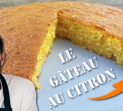 Tous en Cuisine : Je teste le Gâteau au Citron de Cyril Lignac !