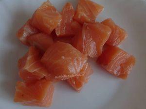 Chaudrée de saumon