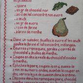 Livre Recettes Brodées de Mamigoz : Douceurs Poire Chocolat Menthe - Chez Mamigoz
