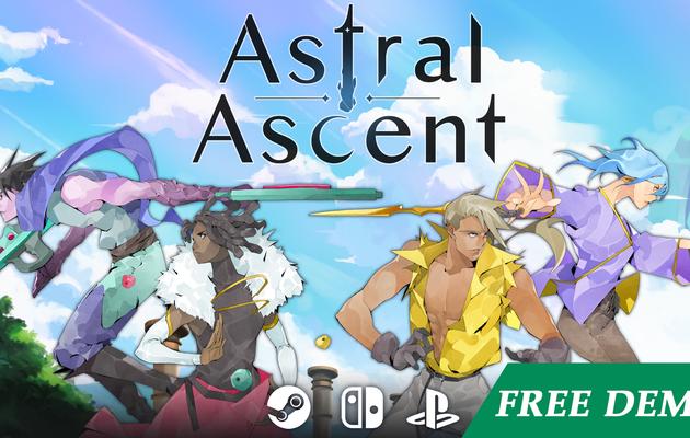 [ACTUALITE] Astral Ascent - Le jeu rogue-lite en 2D lance sa campagne Kickstarter aujourd'hui et une démo
