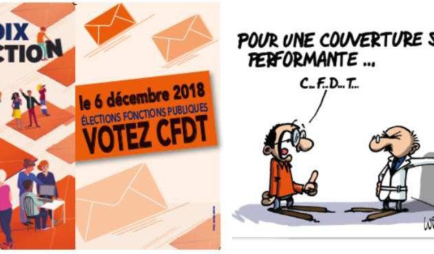 SYNTEF-CFDT -- Pour une couverture santé performante ! Pour une réelle participation financière des employeurs publics à la complémentaire Santé et Prévoyance !