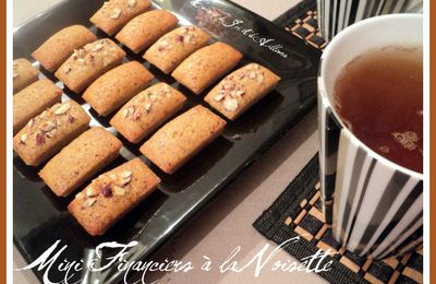 Mini Financiers à la Noisette et la Ronde Interblogs #23