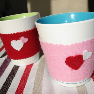 Te♥ Time & Coffee Cosy cup ♥ !